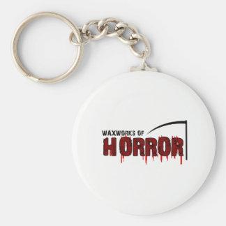 Chaveiro Os modelos de cera do horror