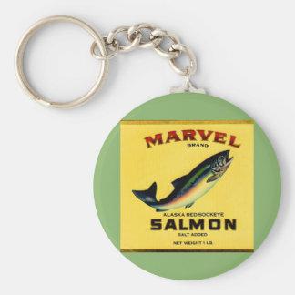 Chaveiro os salmões da maravilha dos anos 30 podem