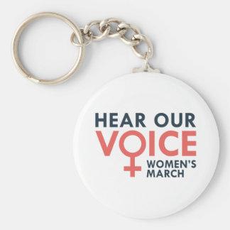Chaveiro Ouça nossa voz