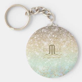 Chaveiro Ouro combinado ID435 do Opal do inclinação do