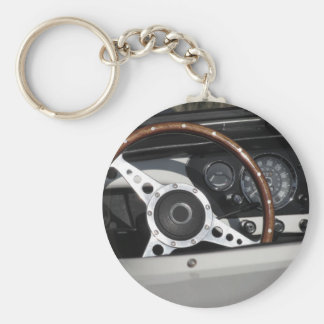 Chaveiro Painel de um carro clássico britânico velho