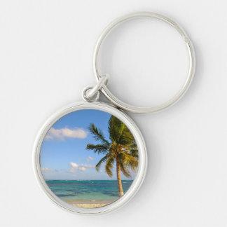 Chaveiro Palmeira e praia