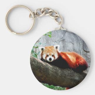 Chaveiro panda vermelha animal engraçada bonito