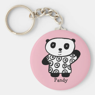 Chaveiro Pandy personalizado a panda