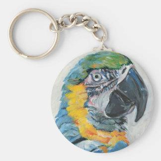 Chaveiro Papagaio azul