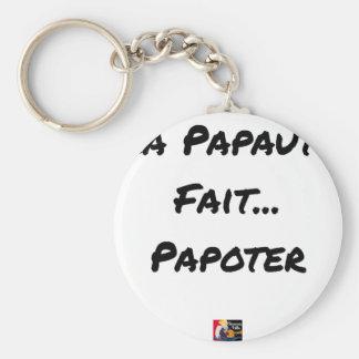 Chaveiro PAPAUTÉ FAZ TAGARELAR - Jogos de palavras