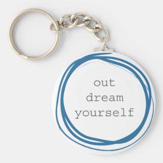 Chaveiro Para fora sonho você mesmo inspirador