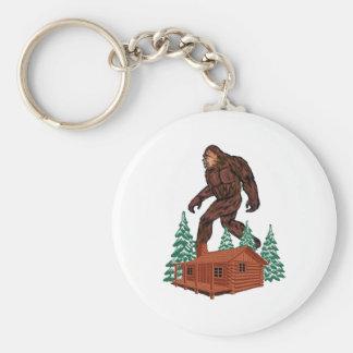Chaveiro Paraíso de Bigfoot