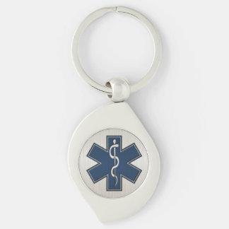 Chaveiro Paramédico EMT EMS de luxe