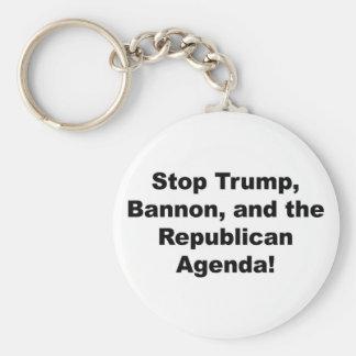 Chaveiro Pare o trunfo, o Bannon e a agenda republicana