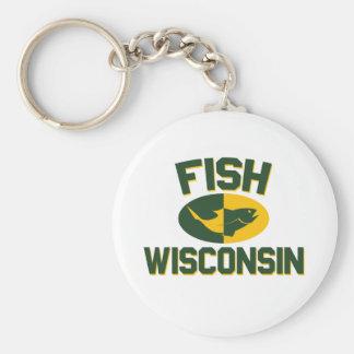 Chaveiro Peixes Wisconsin