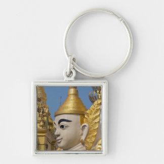 Chaveiro Perfil da estátua de Buddha