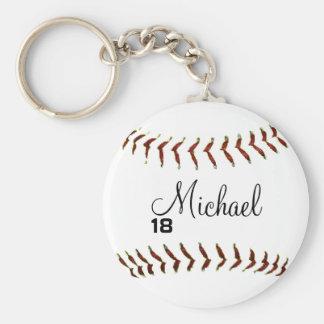 Chaveiro personalizado do basebol