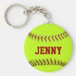 Chaveiro personalizado do softball