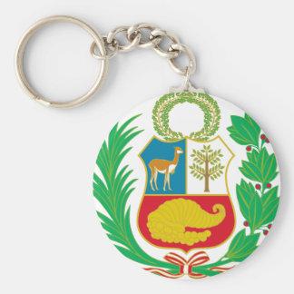 Chaveiro Peru - escudo Nacional (emblema nacional)