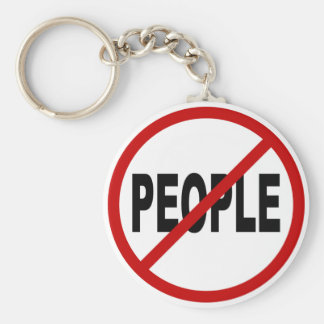 Chaveiro Pessoas de pessoas de /No do ódio permitidas a