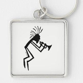 Chaveiro Petroglyph do jogador de trombeta de Kokopelli
