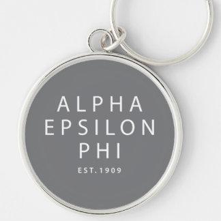 Chaveiro Phi alfa | Est do épsilon. 1909