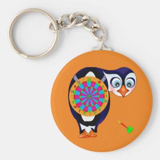 Chaveiro Pinguim do dardo pelos Feliz Juul Empresa