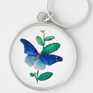 Chaveiro pintura da borboleta