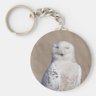 Chaveiro Pisc a coruja nevado