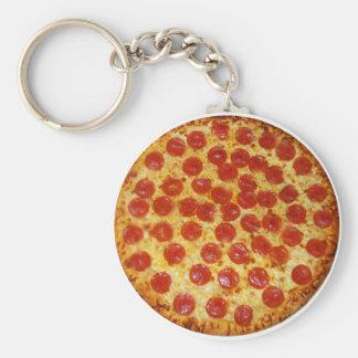 Chaveiro Pizza de Pepperoni