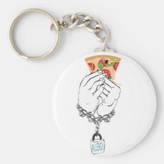 Chaveiro Pizza saboroso dos desenhos animados e Hands2