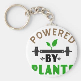 Chaveiro poder pelo design bonito das plantas