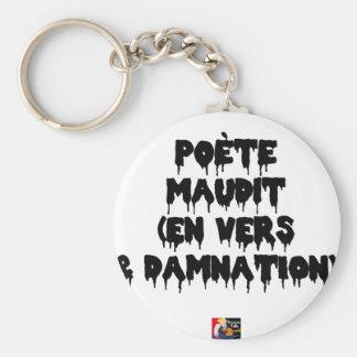 Chaveiro Poeta maldiz (em PARA E DAMNATION) - Jogos de
