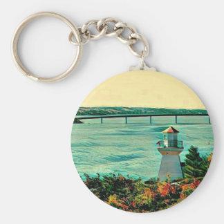 Chaveiro Ponte da ilha de St Joseph das luzes de escala