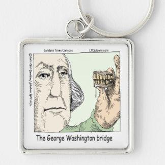 Chaveiro Ponte de George Washington & presente engraçado