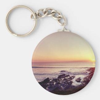 Chaveiro Por do sol da praia de Fistral
