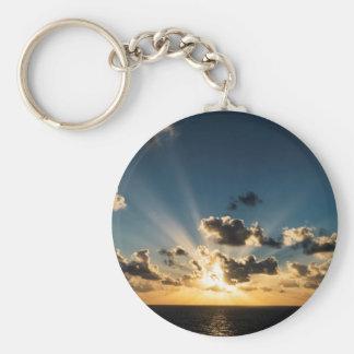 Chaveiro Por do sol do oceano