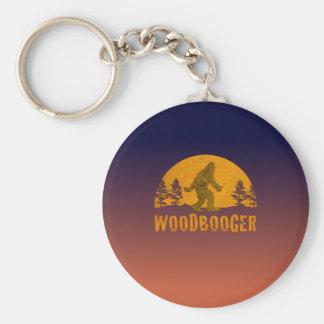 Chaveiro Por do sol do vintage de Woodbooger