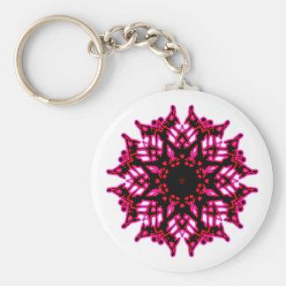 Chaveiro Porte-clés Flor Mandala