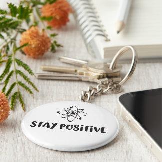 Chaveiro Positividade científica engraçada positiva da