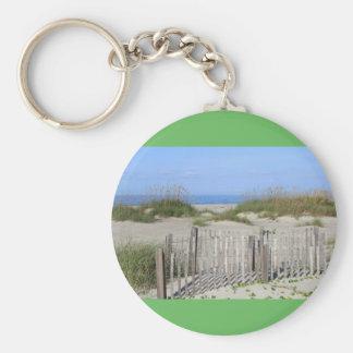 Chaveiro Praia de Caswell, terra do NC e Seascape