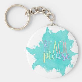 Chaveiro Praia por favor