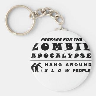 Chaveiro Prepare para o zombi