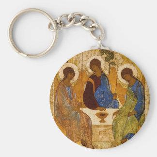 Chaveiro Presente católico bizantino de Rublev do ícone da