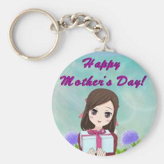 Chaveiro Presente feliz do dia das mães (customizável)
