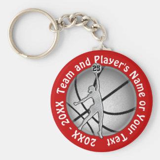 Chaveiro Presentes baratos do basquetebol das meninas, seu