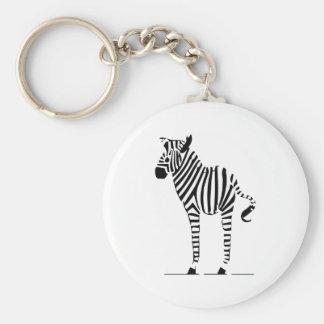 Chaveiro Presentes dos amantes da zebra
