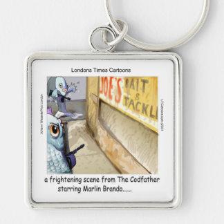 Chaveiro Presentes engraçados da máfia dos peixes de