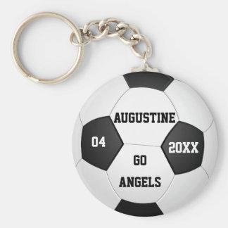 Chaveiro Presentes personalizados do futebol para meninos &