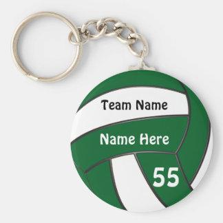 Chaveiro Presentes verdes barato personalizados do voleibol