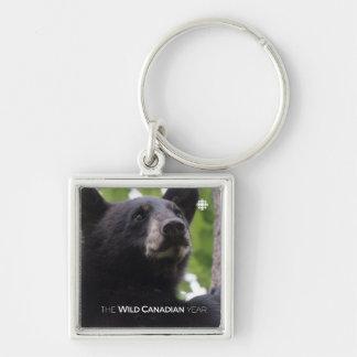 Chaveiro Primavera - urso preto