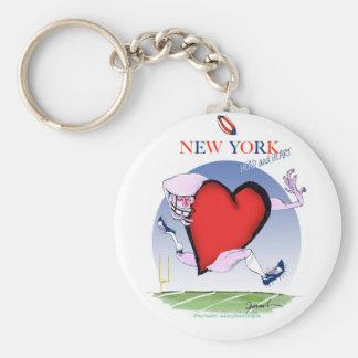 Chaveiro Principais de New York e coração, fernandes tony