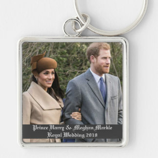Chaveiro Príncipe Harry & casamento real 2018 de Meghan