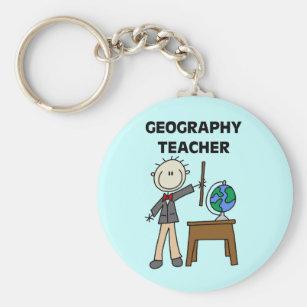 Chaveiro Professor da geografia